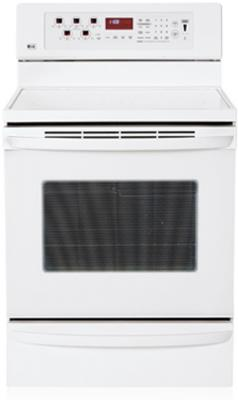 LG LRE30757SW 5.6 cu.ft. Freestanding Smooth White Electric Range , FACTORY REFURBISHED (FOR USA)