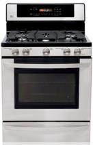 LG LRG30357ST Freestanding Gas Range with Warming Drawer (Stainless Steel) FACTORY REFURBISHED (FOR USA)