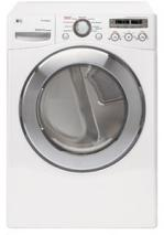 LG DLEX2501W Front Load Steam Electric Dryer 7.3 CFT FACTORY REFURBISHED (FOR USA)