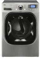 LG DLEX3885W 7.4 CFT Electric Steam Dryer with Color LCD Display FACTORY REFURBISHED (FOR USA)
