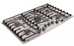"""LG LCG3691ST 36"""" Stainless Steel Gas Cooktop ,  FACTORY REFURBISHED (FOR USA)"""