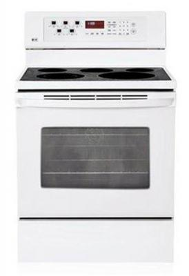 LG LRE30453SW Freestanding Electric Convection Range ,FACTORY REFURBISHED (FOR USA)