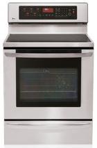LG LRE30757ST 5.6 cu.ft. Freestanding Stainless Steel Electric Range, FACTORY REFURBISHED (FOR USA)