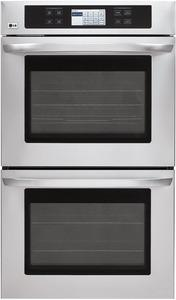 LG LWD3081ST 9.4 cu. ft. Double Wall Oven with Convection Bake/Roast LCD Touch Screen, Stainless Steel FACTORY REFURBISHED (FOR USA ONLY)