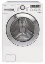 LG WM2501HWA Front Load Steam Washer  4.2 cu. ft. FACTORY REFURBISHED (FOR USA)