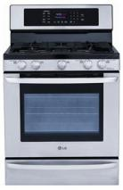 LG LRG3095ST Freestanding Gas Convection Range with EvenJet Convection FACTORY REFURBISHED(For USA )