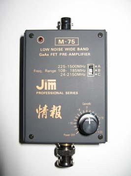 Kinetic-Avionic JIM M-75 Preamp