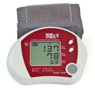 Mark-of-Fitness MF-46 Auto-Inflate Digital Blood Pressure Monitor