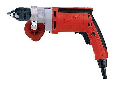 Milwaukee 0302 220-240 Volt Heavy-duty 13mm Magnum Drill with FIXTEC spindle lock