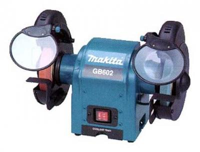 "Makita GB602 150mm 6"" Bench Grinder * 250 Watts Power Input 220-240 Volt/ 50/60 Hz,"