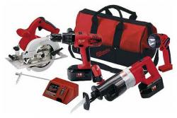 Milwaukee 0925-24 Cordless COMBO Kits for 220 Volts