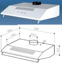 MULTISTAR MUC30HDW-COM DUCTED OR DUCTLESS RANGE HOOD