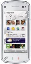 NOKIA N97 WHITE US 3G TOUCHSCREEN QWERTY SLIDER 3G HSDPA  QUAD BAND UNLOCKED GSM MOBILE PHONE
