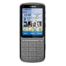 Nokia C3-01 Gray 3G Touch and Type Unlocked GSM Bar Phone with 5MP Camera