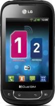 LG P698 OPTIMUS NET DUAL Sim UNLOCKED QUAD BAND GSM CELL PHONE