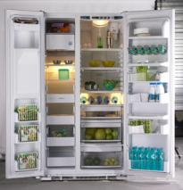 GE PCE23NHTF WW 23 CFT SIDE BY SIDE REFRIGERATOR (white) FOR 220/240 VOLTS