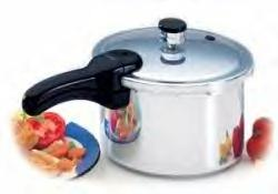 PRESTO 4 QT STAINLESS STEEL PRESSURE COOKER