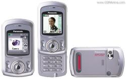 PANASONIC EB-X500 DUAL BAND 900/1800MHZ SLIDING CAMERA PHONE