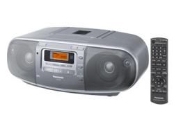 PANASONIC RX-D50 CD RADIO CASSETTE RECORDER FOR 110-240 VOLTS