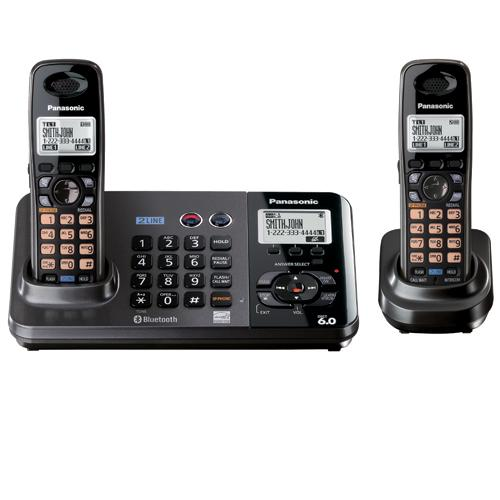 two line phones with answering machine