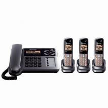 Panasonic KX-TG1063PK DECT 6.0 Expandable Corded for 110-240 Volts
