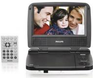 iVid DV905 9inch Multi-System Region-Free Portable DVD Player with TV Tuner 110-220 volts