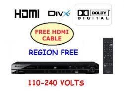 Pioneer DV-420K 1080p multi region DVD player for 110-240 Volts