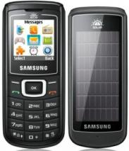SAMSUNG SGH-E1107 BLACK SOLAR GURU DUAL BAND UNLOCKED GSM MOBILE PHONE