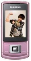 SAMSUNG SGH- S3500 PINK QUAD BAND BLUETOOTH UNLOCKED GSM MOBILE PHONE