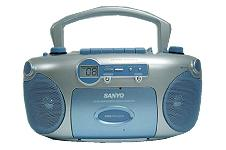 SANYO MCD-XJ780 CD Radio Portable Boom Box