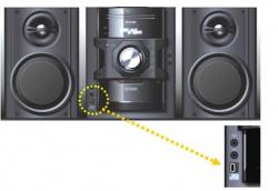 SHARP CD-DV790 Region free DVD Stereo System