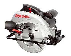Skil 5166 220 volt, Circular Saw with Powerful 1250 Watt motor with high speed (4600 RPM) for fast