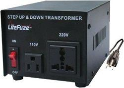 500 watts platinum series step up and step down voltage transformer