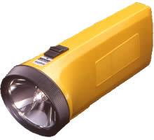 Sanyo compact size Flash light for 220 volts