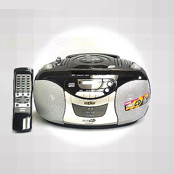 SANYO MCD-V66 Portable Boom Box with Video CD play back