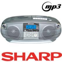 Sharp QT-MP5 boom box for 110-240 Volts