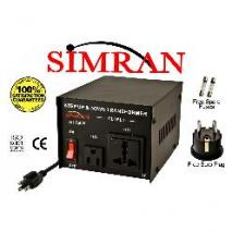 Simran AC750W 750 Watt Step UP/DOWN Voltage Converter Transformer for Heavy-Duty Continuous Use