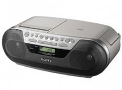 SONY CFDS05 CD RADIO CASSETTE PLAYER