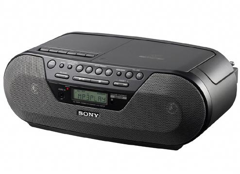 Sony Cfds07 Cd Radio Cassette Player With Mp3 220 Volt