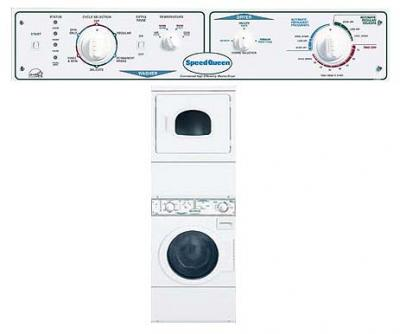 SpeedQueen LTSA7 Stacked Washer/Dryer