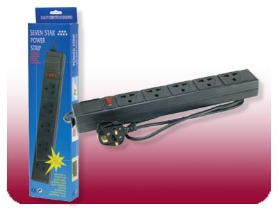 220-250 VOLT SURGE PROTECTOR FOR USE IN THE UNITED KINGDOM/IRELAND