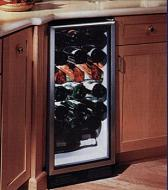ULine 1175BEVS Refrigeration capacity of 6 cubic feet, Wine bottle capacity up to 16 bottles 220Volt 50Hz