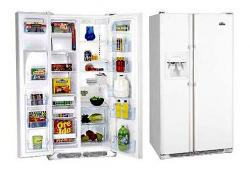 White Westinghouse WRSZ25V8CW Side By Side Refrigerator