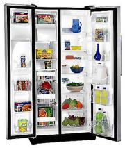 White Westinghouse WSPZ25V9CS Side By Side Refrigerator
