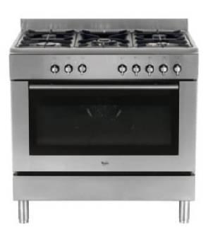 Whirlpool ACG900IX Electric & Gas Range for 220 Volts