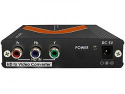 AT-COMP500 Component Video to S-Video and Composite PAL,NTSC,SECAM  Video Down Converter
