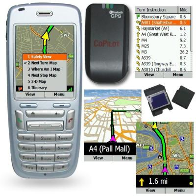 CoPilot Live Smartphone Bluetooth GPS (US)