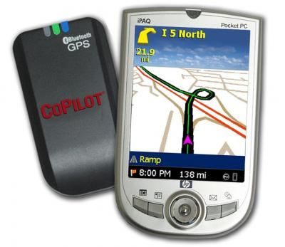CoPilot Live Pocket PC 5 Bluetooth GPS (US)