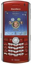 BLACKBERRY 8100  PEARL RED QUAD BAND UNLOCKED GSM MOBILE PHONE