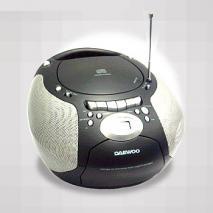 DAEWOO CD Stereo Radio Cassette Recorder CD 110